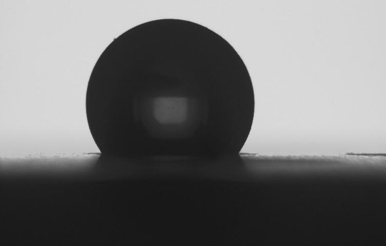 接触角测量仪测试图片