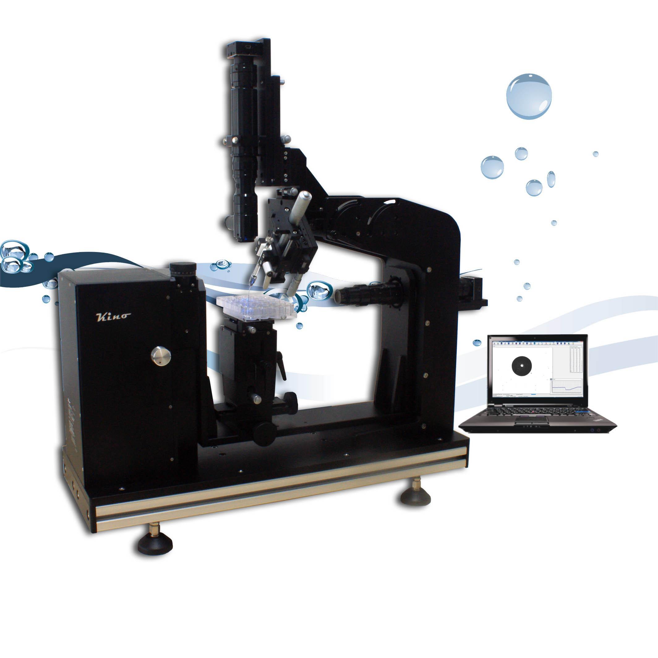 接触角测量仪顶视法